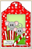 Christmouse Time Gift Tag - REF_T625