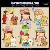 Agnus Little Pets ClipArt Collection