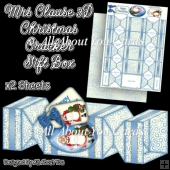Mrs Clause Christmas Cracker Gift Box