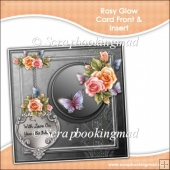 Rosy Glow Card Front & Insert