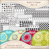 JUMBO SET - Build A Paper Set 14 - PNG FILES & .PAT File