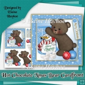 Hot Chocolate Xmas Bear Cardfront