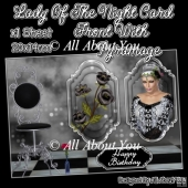 Lady Of The Night Card Front