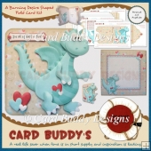 A Burning Desire Shaped Fold Card Kit