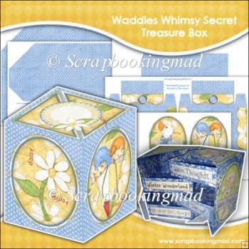 Waddles Whimsy Secret Treasure Box