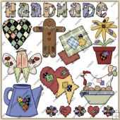 Stitches ClipArt Graphic Collection 2