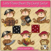 Little Pirate Bears Collection - SPECIAL EDITION