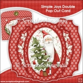 Simple Joys Double Pop Out Card & Envelope