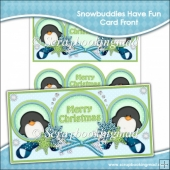 Snowbuddies Have Fun Card Front