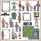 Fathers Day ClipArt Graphic Collection