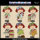 Annies Christmas Treats ClipArt Collection