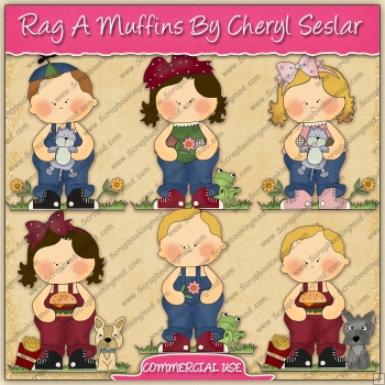 Rag A Muffins Graphic Collection - REF - CS