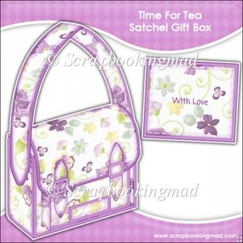 Time For Tea Satchel Gift Box