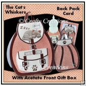 The Cat's Whiskers - 3D Back Pack Card