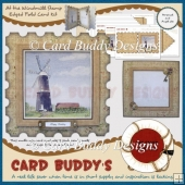 At the Windmill Stamp Edged Fold Card Kit