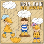 Rain Go Away ClipArt Graphic Collection