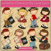 Snicklefritz Pirate Kids Graphic Collection - REF - CS