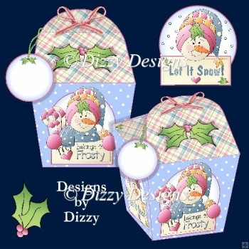 My Heart Belongs To Frosty Gift Boxes