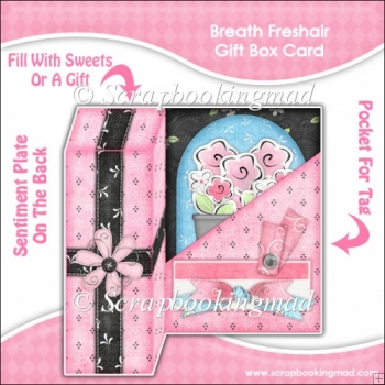 Breath Freshair Gift Box Card