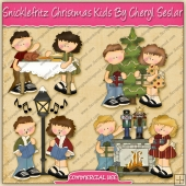 Snicklefritz Christmas Kids Graphic Collection - REF - CS