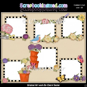 Picture Helpers Pretty Flowers ClipArt Collection