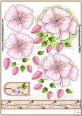 Cherry Blossom PDF Decoupage Download