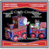 Santa Express Advent Keepsake