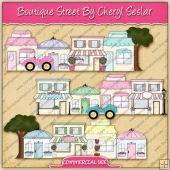 Boutique Street Graphic Collection - REF - CS