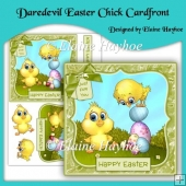 Daredevil Easter Chick Cardfront