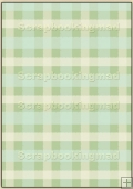 Backing Papers Single - Green Gingham - REF_BP_27