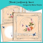 Floral Cardfront & Insert