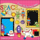 Spaced Out ClipArt Graphic Collection