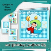 Boy Age 2 Birthday Kit