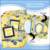 Denim and Daisies Stationery Box Set