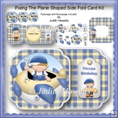 Fixing The Plane Shaped Side Fold Card Kit