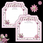 Choice of greetings for Back Panel