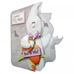 A Spooktacular Halloween Shaped Fold Card - view 2