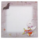 A Spooktacular Halloween Shaped Fold Card - envelope