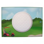 Crazy for Golf Shaped Fold Card - envelope front