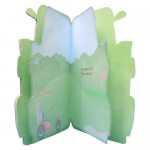 Crazy for Golf Shaped Fold Card - inside view