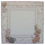 Pottering In My Garden Over The Top Easel Card - envelope front