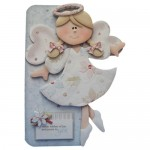 Christmas Angel Shaped Fold Card - view 1