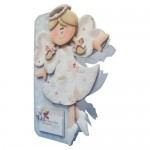 Christmas Angel Shaped Fold Card - view 2