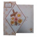 Sympathy Diamond Pyramage Foldback Card