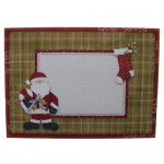 May Your Christmas Be Merry Santa Shaped Easel Card - envelope