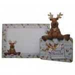 Resting Reindeer Over The Top Card - finished set