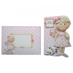 Girly Greetings Shaped Fold Card - finished set