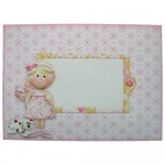 Girly Greetings Shaped Fold Card - envelope