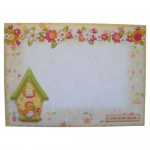 A Little Birdie Told Me Shaped Fold Card - envelope front