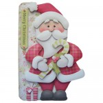 Jolly Santa Shaped Fold Card - view 1
